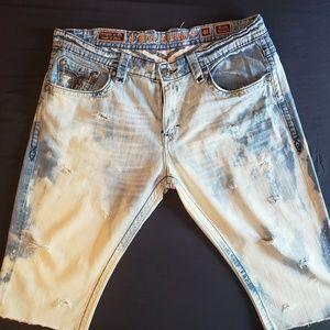 Rock Revival Jean Shorts